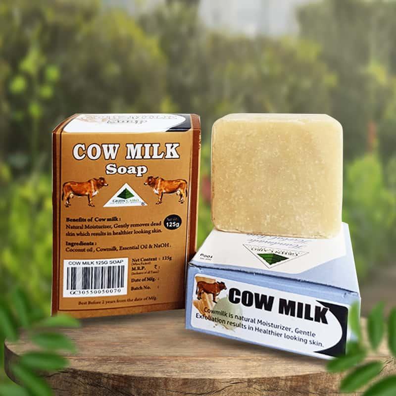 Cow Milk Soap 100g