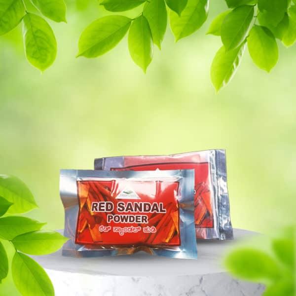 Red Sandal Powder 40g