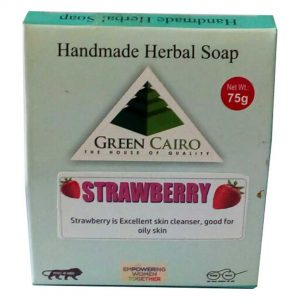 strawberry soap