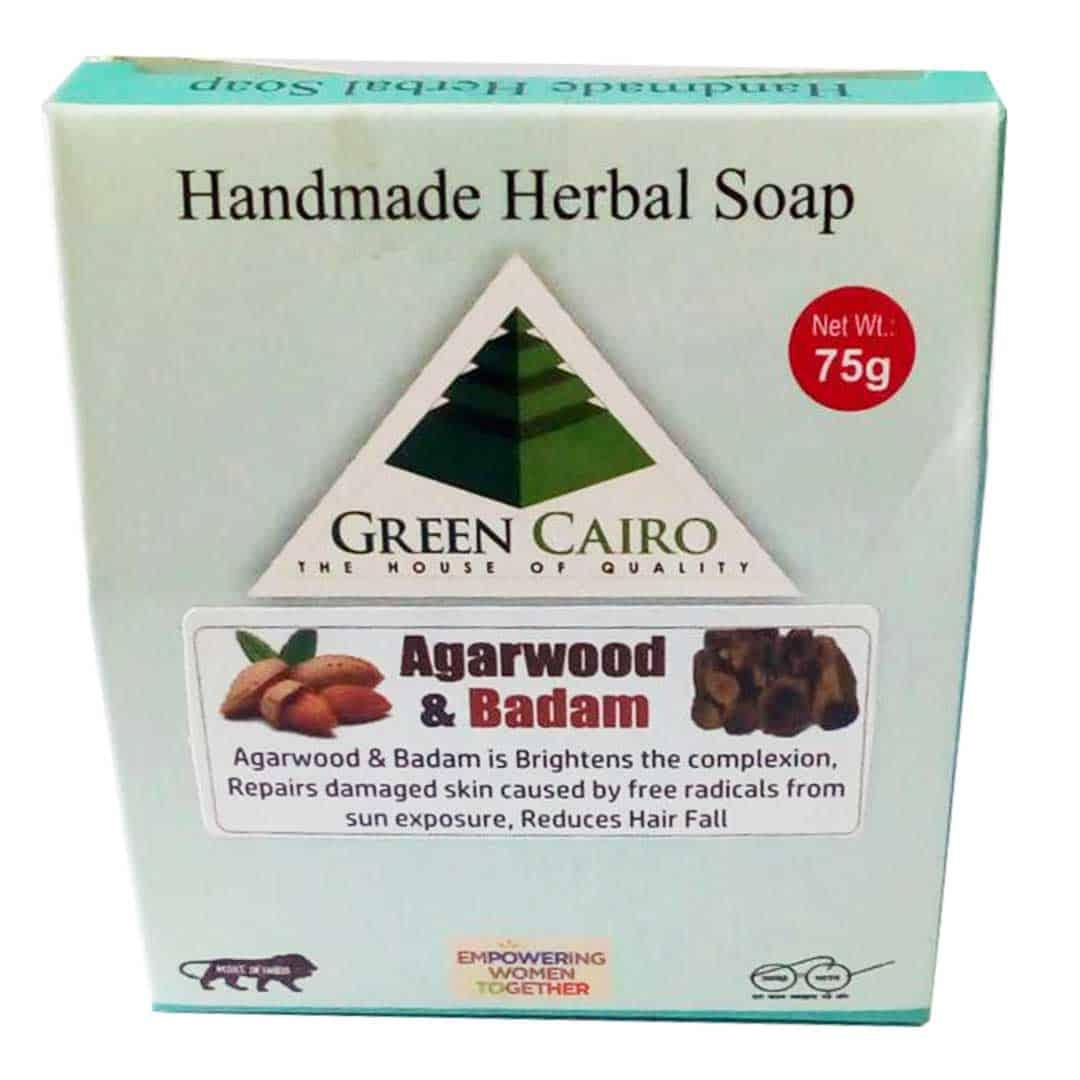agarwood & badam soap