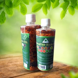 Roasted Hair Oil with Vital Herbs Mix 500ml