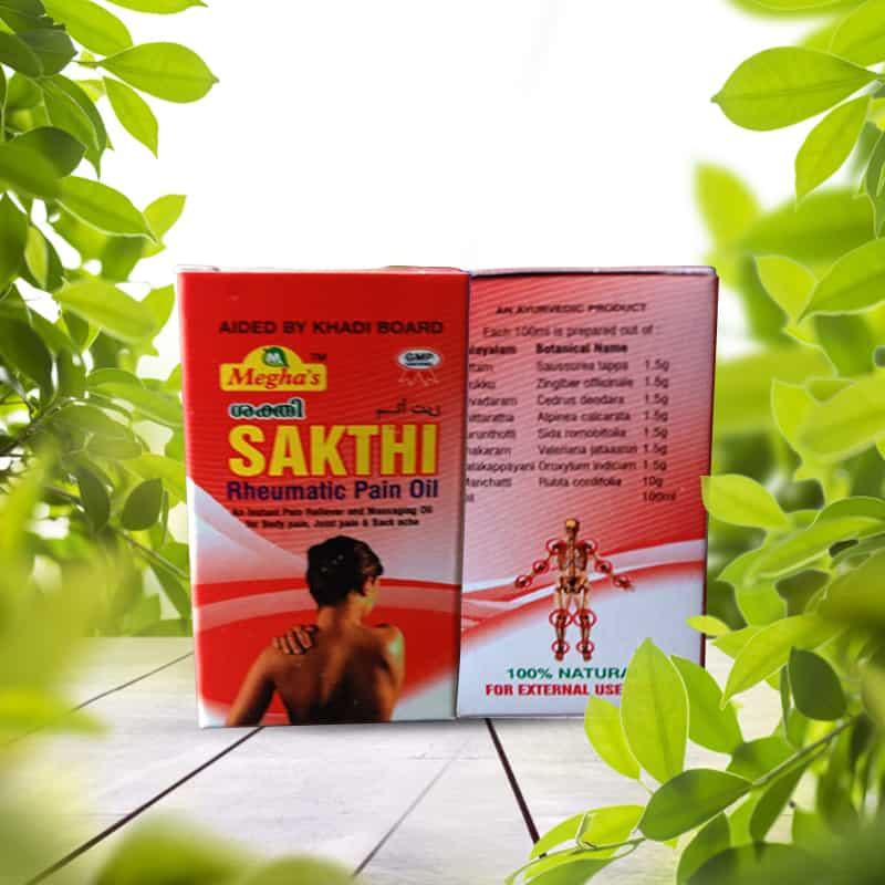 Sakthi Rheumatic Pain Oil 30ml