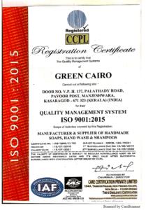 ISO Green Cairo